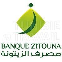 Banque Zitouna recrute des Guichetiers
